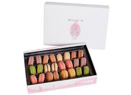 large luxury gift box 24 macarons