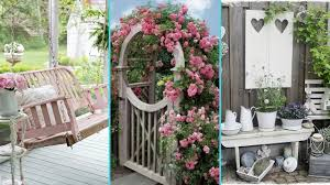 Small Picture DIY Shabby Chic Garden decor Ideas 2017 Home decor