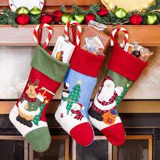 christmas stocking set. Beautiful Christmas 3 Piece Christmas Stocking Set On