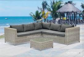Patio Outdoor Wicker Furniture Waterproof Rattan Garden