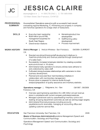 Excellent Resume Template Free Professional Resume Templates From Myperfectresume Com