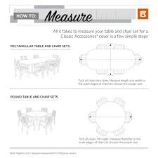 here s a fun look on how to measure your patio pieces to find the right cover for your outdoor space