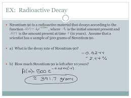 5 ex radioactive