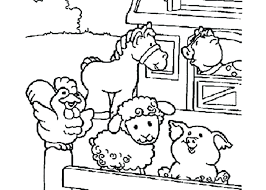 Free Printable Farm Animal Coloring Pages S5672 Free Printable Farm