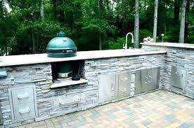 big green egg outdoor kitchen outdoor kitchen designs with smoker egg picture of custom smokers big