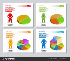Simple Info Graphics Set Of Simple Infographics From Stylized Figure Of People Man And Of