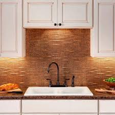 Kitchen Backsplash Panel Fasade 24 In X 18 In Traditional 6 Pvc Decorative Backsplash
