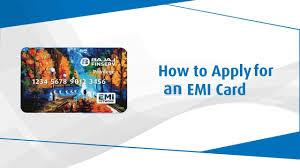 how to apply for bajaj finserv emi card