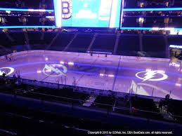 St Pete Times Forum View From Club Level 230 Vivid Seats