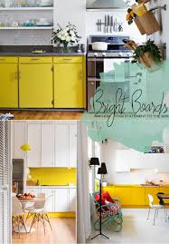 Yellow Kitchen Living The Trend Yellow Kitchen And Dining Room Accents Dine X