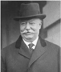 WILLIAM HOWARD TAFT'S parents were of moderate wealth and some political influence in Cincinnati, Ohio, where he was born on 15 September 1857. - prh_01_img0056