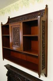 arts crafts wall cabinet
