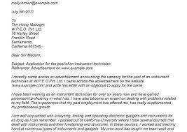 Instrument Technician Cover Letter Sample Dental Assistant Cover