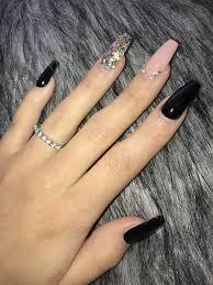 70 matte black coffin nail ideas matte black nails matte nails coffin nails