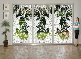 image of fun window treatment ideas for sliding glass doors