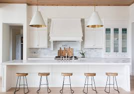 transitional kitchen ideas. transitional kitchen. white a pair of and gold cone pendants, kitchen ideas c
