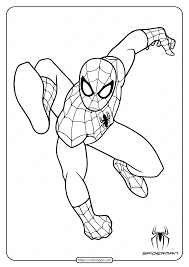 Coloring is a fun way to develop your creativity, your concentration and. Printable Superhero Spiderman Coloring Pages