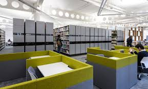 coventry university library lanchester shade electronic mobile shelving 1030x623 coventry university library lanchester refurbishment 2016