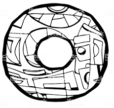 Letter O Coloring Page Stock Illustration Download Image Now Istock