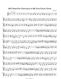 all i want for christmas is my two front teeth sheet music all i want for christmas is my two front teeth sheet music all i