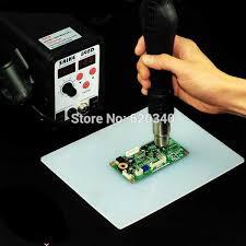 aliexpress com heat resistant heat bga soldering station repair insulation pad insulator pad desk mat maintenance platform free from