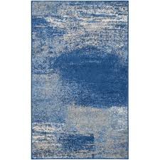 peaceful design ideas cobalt blue area rug 26
