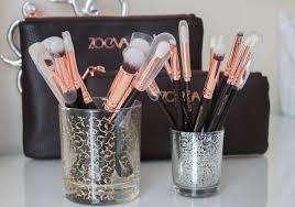 zoeva rose gold brushes rose golden luxury plete eye sets