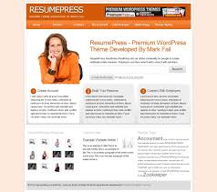 38 Wordpress Themes To Showcase Your Resume Online Press Castle