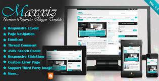 responsive blogger templates maxxiz responsive blogger template