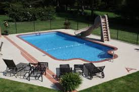 in ground pools with slides. Delighful Ground Inground Pool Slide With In Ground Pools Slides
