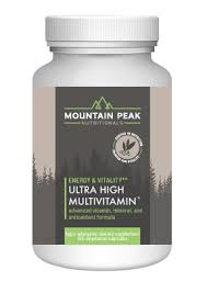 Ultra High™ <b>Multivitamin</b> - Mountain Peak Nutritionals - antioxidants