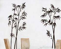 bamboo wall decal bamboo wall decal vinyl tree