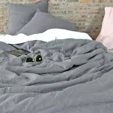 grey linen duvet cover contemporary stonewashed made to order with regard 1 king ikea