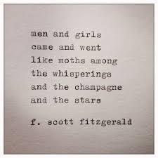 Quotes From The Great Gatsby Extraordinary Great Gatsby Quote Typed On Typewriter Poetry Quotes Pinterest