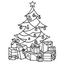 Christmas Trees Coloring Pages Christmas Tree Coloring Page