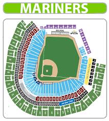Mariners Seating Chart Memorable Mariner Seating Chart 2019