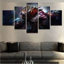 dota 2 5 piece canvas paragon apparel