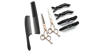 how to cut your own hair scissors