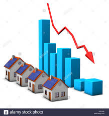 Drip Chart Blue House Building Chart Drop Diagram Real Graph
