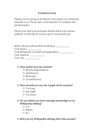 Employee Performance Review Sample Images 1 Questionnaire Template
