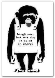banksy laugh now monkey prints posters on banksy wall art prints with laugh now monkey banksy framed art giclee art print