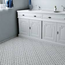 E SomerTile 10 5x10 5 Inch Victorian Basket Weave White Porcelain With Regard  To Basketweave Floor Tile Plans