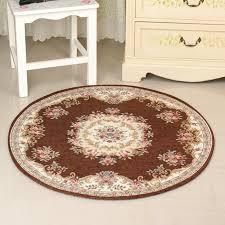 diameter 120cm large bathroom mat bath rugs european style toilet mat rugs anti slip bathroom rug carpets alfombra tapis bain