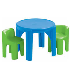 little tikes bright n bold table and chairs
