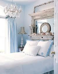 blue white bedroom