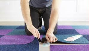 How To Install Mercial Carpet Tiles Concrete Carpet Vidalondon