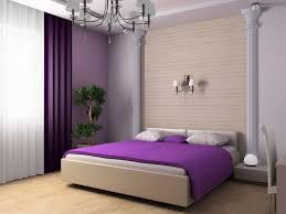 Purple Bedroom Curtains Decorating Ideas Alluring Purple Bedroom Interior Using White