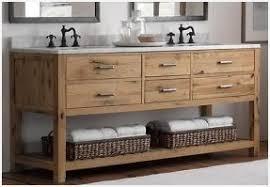 Rustic pine bathroom vanities Farm Style Double Sink Vanity Units For Bathrooms Charming Light Rustic Pine Bathroom Vanities Brown Marble Tiles Floor Mostfinedupclub Sink Vanity Units For Bathrooms Charming Light Rustic Pine