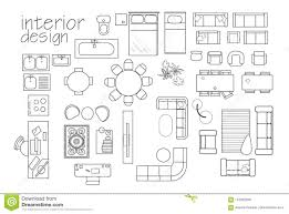 Floor plan symbols Interior Design interior Design Floor Plan Symbols Top View Furniture Cad Symbol Dreamstimecom Interior Design Floor Plan Symbols Top View Furniture Cad Symbol