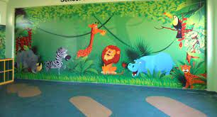 nursery class wall decoration art